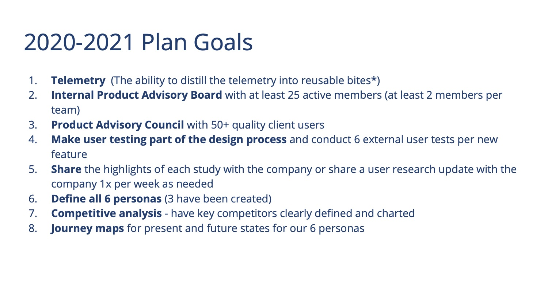 UXR Program 2020 Slide 15